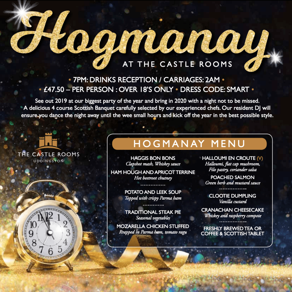 Castle Rooms Hogmanay Party in Uddingston